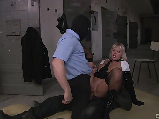 Kinky MFM threeway fuck for surprising hell-cat Nataly D'angelo