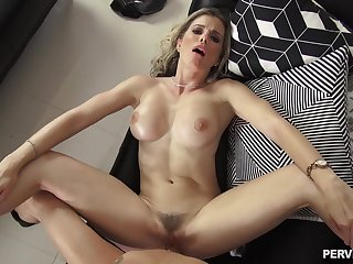 Cory Chase is the complaisant of kinky stepmom most young lucre would be in love with to fuck