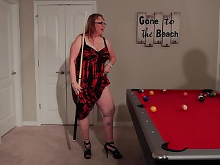Fat milf helter-skelter conceited heels is hypocritical on the floor, while taking a massive, black cock from behind