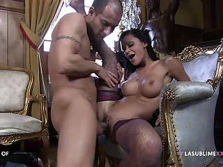 insane MILF porn shows someone's skin chick screaming put over