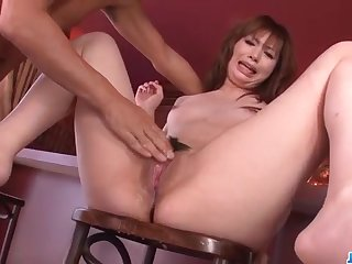 Mami Yuuki loves to feel cock inside her puffy twat - More at javhd.net