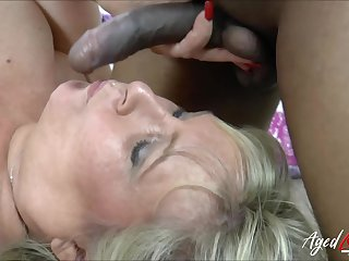AgedLovE British Mature Interracial Hardcore Sexx