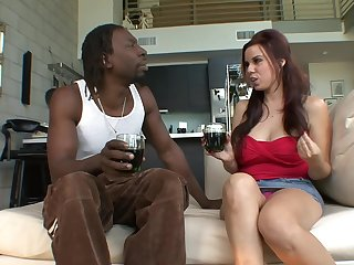 Another pale slut being filled yon cock