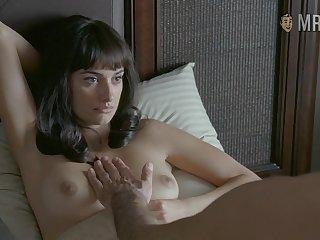 Attractive laddie Penelope Cruz and her bed scenes will make you wank nonstop