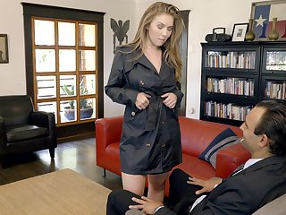 Good looking busty sexpot Lena Paul gets banged missionary passionately