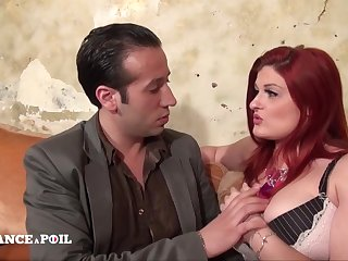 La France A Poil - Big Beautiful Redhead Woman Anal Pou