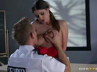 Anal, Big tits, Brunette, Tits,