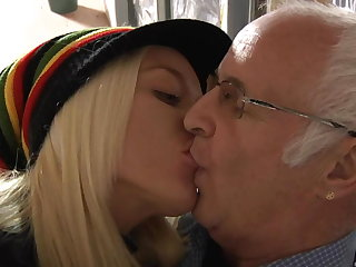 Ass, Big ass, Big pussy, Blonde, Blowjob, Hardcore, Lick, Old, Older, Pussy,